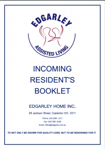 Incoming Resident Booklet